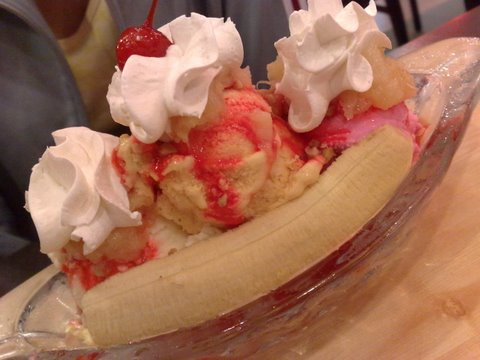 Banana Split Time!
