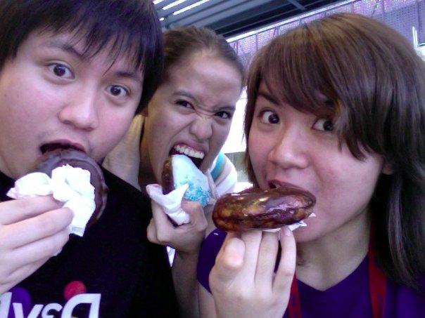 Patay Gutom loves Krispy Kreme's Chocolate Karnival Treat!