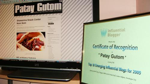 Patay Gutom Award