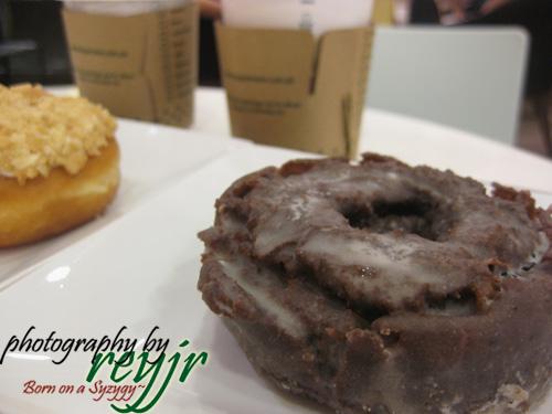 Krispy Kreme Choco Cake Doughnut