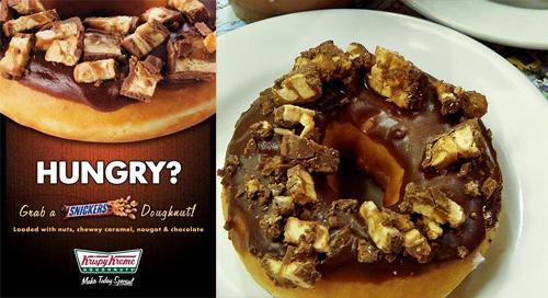 Krispy Kreme Snickers