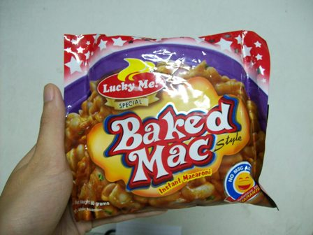 Lucky Me Baked Mac