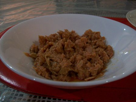 San Marino Corned Tuna in a Bowl