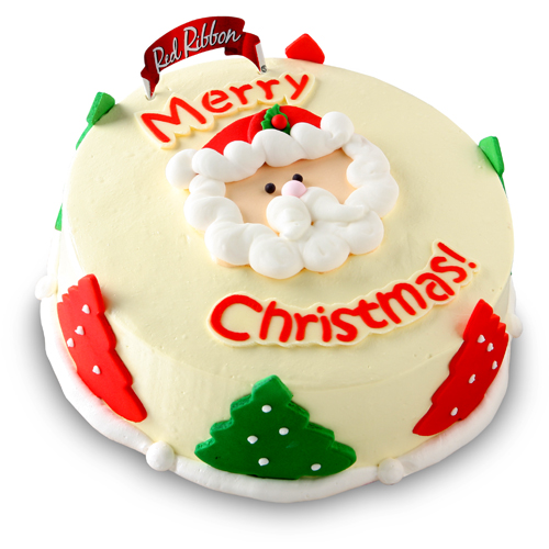 Pre Order A Santas Wish Cake At Red Ribbon Patay Gutom