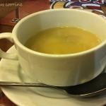 The boring mushroom soup!