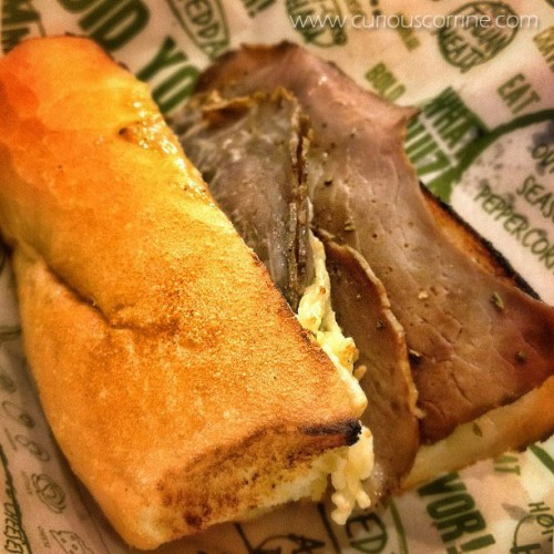 Small French Dip Sandwich | Php 195