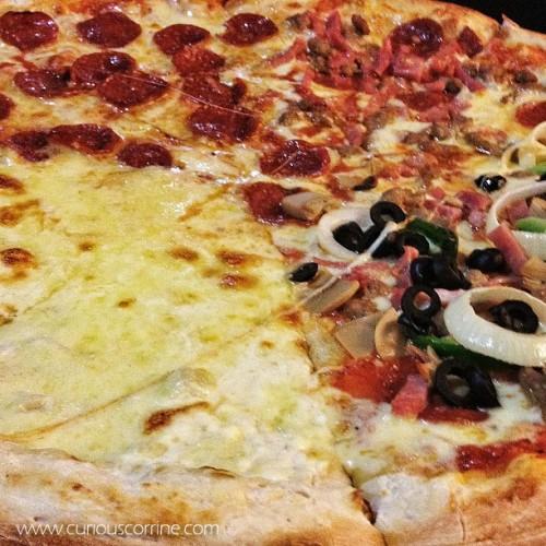 White Cheese, Pepperoni, Porko and Deluxe